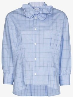 checked bow tie shirt