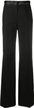 bootcut tailored trousers - Black
