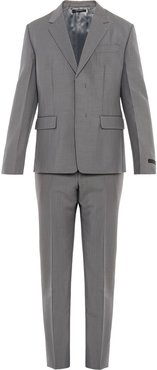 single-breasted two-piece suit - Grey