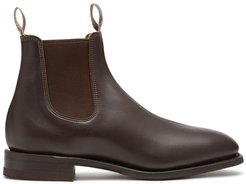 Dynamic Flex leather boots - Brown