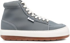 ankle lace-up sneakers - Blue