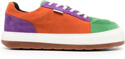 Dreamy low-top sneakers - ORANGE