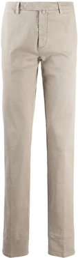slim-fit chino trousers - Neutrals