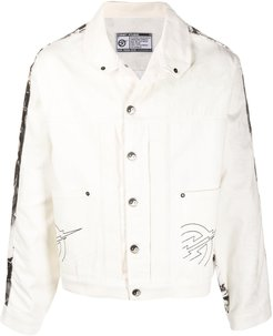The Knight Of Shadows jacket - White
