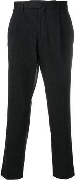 concealed front chinos - Black