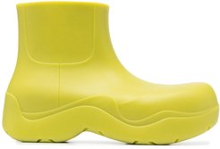 rubber ankle boots - Green