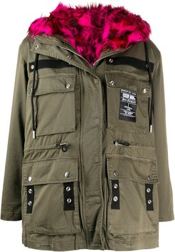 G-Uribe reversible parka coat - Green