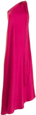 Florence one-shoulder gown - PINK