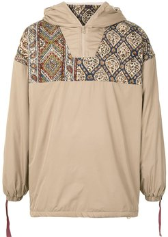 backlash fleece pullover - Brown