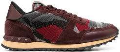 Camouflage Rockrunner sneakers - Red