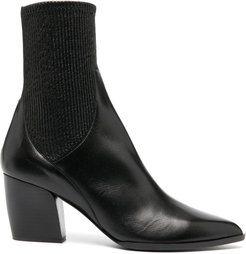 ankle sock boots - Black