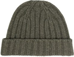 knitted cap - Green