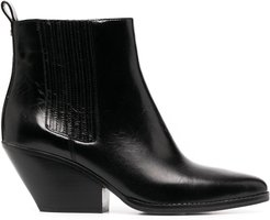 Sinclair leather boots - Black