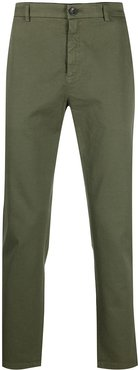 slim-fit trousers - Green