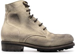 worn effect boots - Neutrals
