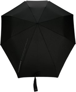 geometric-shaped umbrella - Black