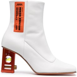 LEVEL BOOTIE LEATHER - White