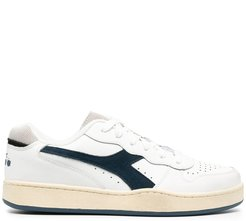 Mi Basket Low Used leather sneakers - White