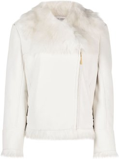 Back To Winter shearling jacket - White