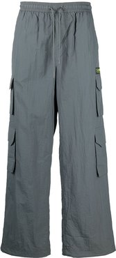 straight-leg cargo trousers - Grey
