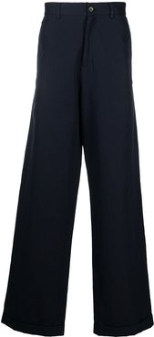 wide leg trousers - Blue