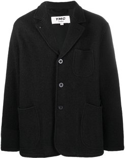 Scuttlers single-breasted jacket - Black