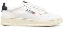 Action low-top sneakers - White