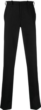 high-waisted tailored trousers - Black