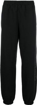 cotton tracksuit bottoms - Black