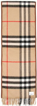Quilted Giant Check Scarf