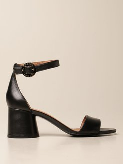 Heeled Sandals Shoes Women Emporio Armani