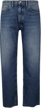 Wide-leg Denim Jeans