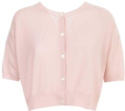 D520670 Lapsus Pink Cotton Cardigan