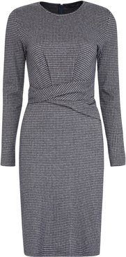 Musette Houndstooth Sheath Dress