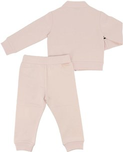 Sweatshirt And Trousers Suit