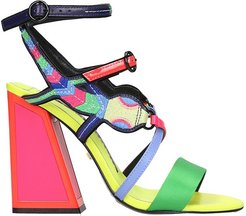 Molly Sandals In Multicolor Synthetic Fibers