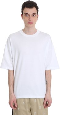 T-shirt In White Cotton