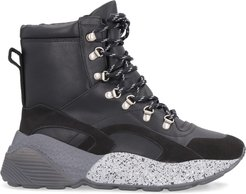 Eclypse Faux Leather High-top Sneakers