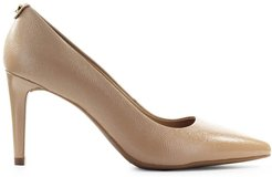 Dorothy Beige Patent Leather Pump