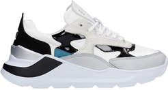 Fuga Sneakers In White Synthetic Fibers