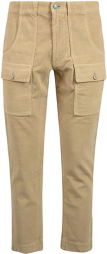 Corduroy Pockets Trousers
