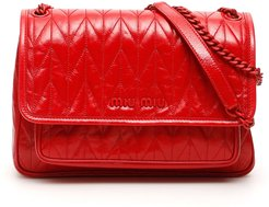 Quilted Shine Calfskin Bag