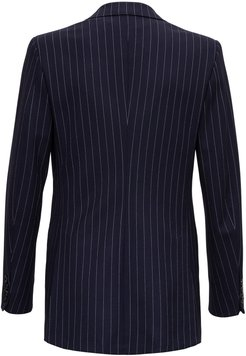 Double-breasted Pinstripe Jacket