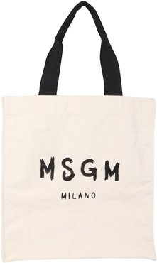 Tote Bag With Brushed Logo