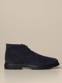 Chukka Boots H393 Route Hogan Suede Ankle Boot With Memory Sole