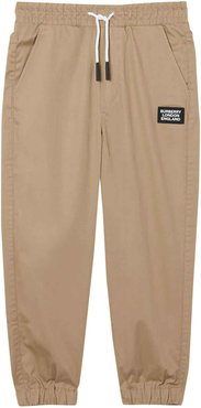 Light Brown Trousers With Application