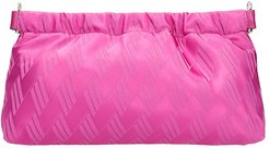 Clutch In Fuxia Fabric