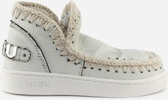 Eskimo Sneaker Ankle Boots With Maxi Rear Logo