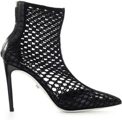 Bali Tricot Black Ankle Boot