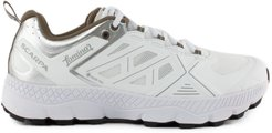 White Technical Textile Sneakers